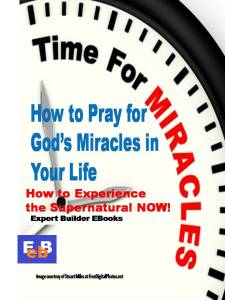 How to Pray for God' Miracles COVER