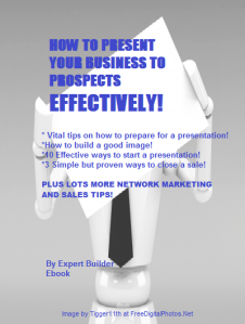 How to Present Your Business to Prospects Effectively BOOK COVER